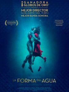 Cine: 'La forma del agua' Dir.: Guillermo del Toro -Calp- @ Auditorio - Casa de Cultura, Calp