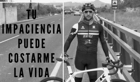 Andrés Contreras torna per primera vegada al lloc de l'accident on va perdre a son pare i dos companys