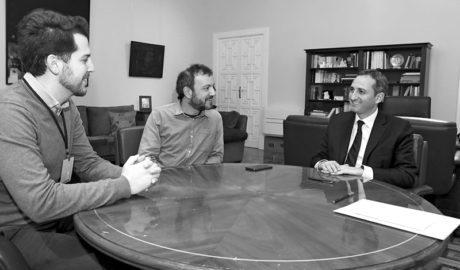 """César Sánchez garantiza """"al 90%"""" que Benissa tendrá 400.000 euros de la Diputación para inversiones"""