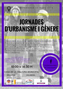 I Jornada d'Urbanisme i Gènere: conferència i marxa exploratòria pel municipi -Pego- @ Casa de Cultura de Pego