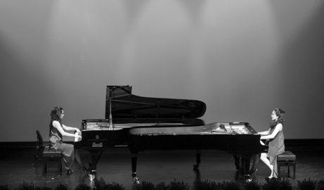 Las hermanas Naughton, puro virtuosismo al piano en el Auditori Teulada Moraira