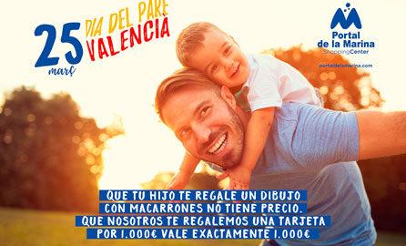 Torna un any més el 'Dia del Pare Valencià' a Portal de la Marina