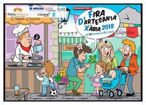 Feria de Artesanía de Pascua: música y teatro infantil -Xàbia- @ Xàbia Histórica