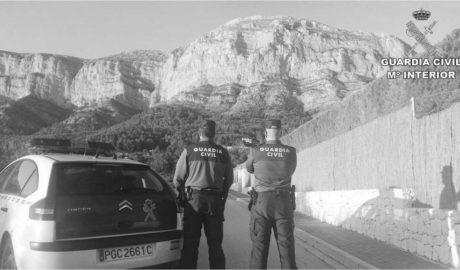 Arrestado por robar en 14 chalés del Montgó de Xàbia