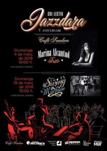 Jazzdara: Concert i ball de swing amb The Swing Machine -Ondara- @ Café Sendra, Ondara