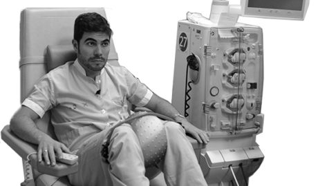 [VÍDEO] Gimnàstica psicocreativa durant l'hemodiàlisi en l'Hospital de Dénia