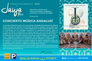 Concierto de música andalusí por la Asociación Ibn Badja Mostaganem de Argelia -Dénia- @ sala Jauja de Baleària Port