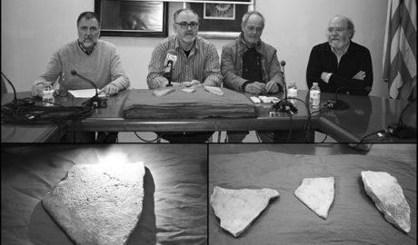 Las plaquetas paleolíticas de la Cova del Comte de Pedreguer se expondrán en el MARQ de Alicante