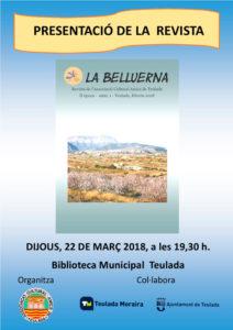 Presentació de la revista 'La Belluerna' -Teulada- @ Biblioteca Municipal de Teulada