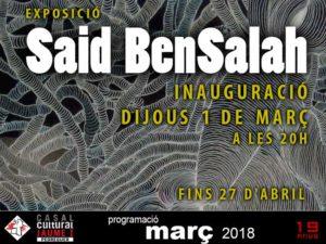 Exposició 'La força de l'autenticitat' de Said Bensalah -pedreguer- @ Casal Cultural Jaume I de Pedreguer