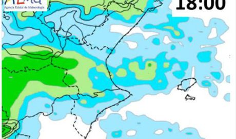 El temps: Pluges durant la vesprada, però aclarirà per a la cremà de les Falles