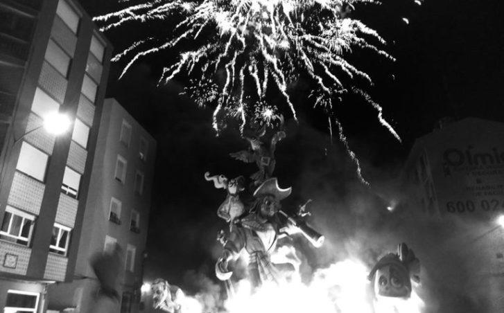 La cremà més matinera posa el colofó a les Falles de 2018