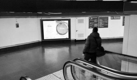 Dénia se vende como mucho más que playa en más de 20 estaciones de Metro en Madrid