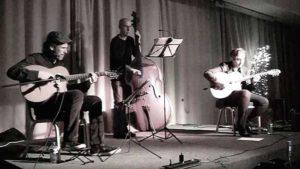 'Jazz a 100': Fabián Barraza Django's Quartet -Xàbia- @ Casa de Cultura de Xàbia