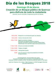 Dia dels Boscos: plantació col·lectiva i visita guiada al Jardí de l'Albarda -Pedreguer- @ Jardí de l'Albarda, Pedreguer