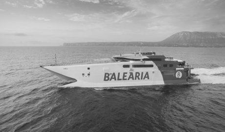 Baleària acorta de 8 a 4 horas el viaje Dénia-Eivissa-Palma con un nuevo ferri