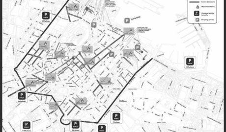 El mapa para no perderse en Dénia entre monumentos y obras, en la semana fallera más caótica en tráfico
