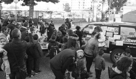 Ochenta y cinco mil céntimos para la aventura solidaria de Gaspar Ruiz y Vicente Ros en Marruecos
