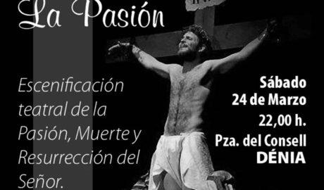 La plaza del Consell de Dénia acogerá en Semana Santa la representación de la Pasión en 22 escenas
