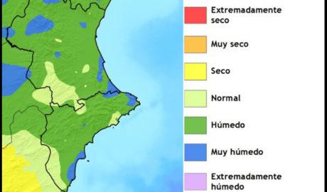 Febrero lluvioso en la Marina Alta: Xàbia registra un 145% más de precipitaciones y Gata un 96%