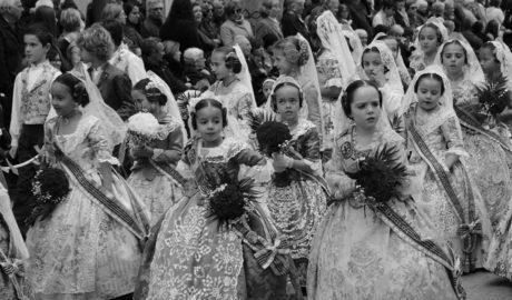 Calor floral para un desapacible día de Sant Josep