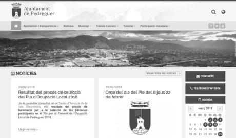 Pedreguer renueva su web con nuevos servicios en línea y más transparencia