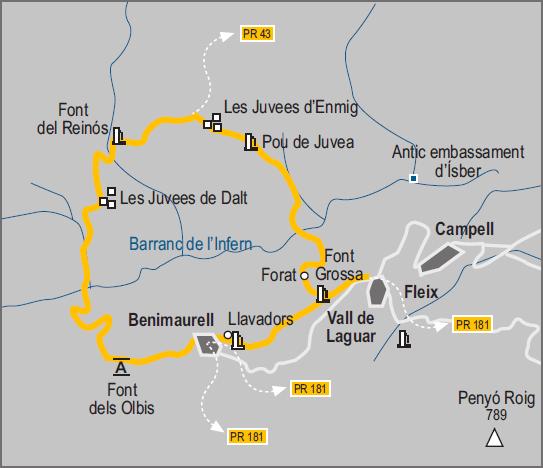 De senderismo por la Marina Alta (II): 5 rutas