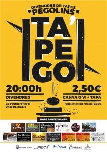 Gastronomía: Ruta de la Tapa 'Tapego' -Pego- @ Pego