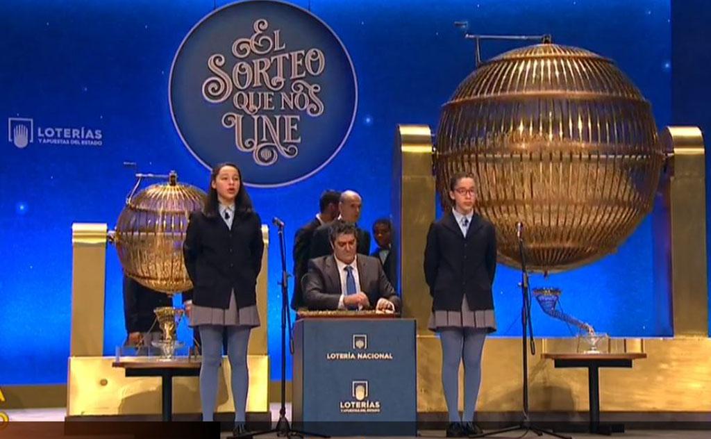 Así se cantó 'El Gordo' madrugador de la Lotería de Navidad 2019